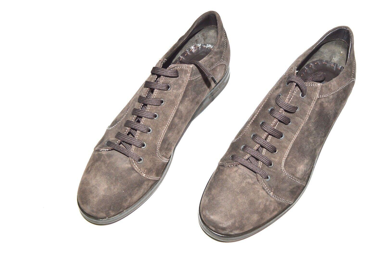 NEW  STEFANO RICCI Suede  shoes Size Eu 42 Us 9 (Cod S405A)