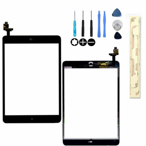 Home Button  IC Connector For iPad Mini 1 2 Black Touch Glass Digitizer Screen