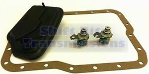 FORD-4F27E-SHIFT-SOLENOID-SET-PAN-GASKET-FILTER-OEM-99-UP-A-B-SHIFT-TRANSMISSION