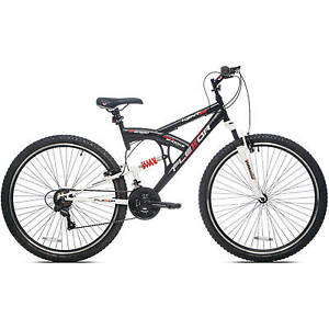 Men-039-s-Mountain-Bike-29-034-Bicycle-Shimano-Full-Suspension-21-Speed-NEW