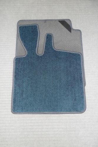 NEU $$$ $$$ Original Lengenfelder Velour Fußmatten für Smart Fortwo 450 BLAU