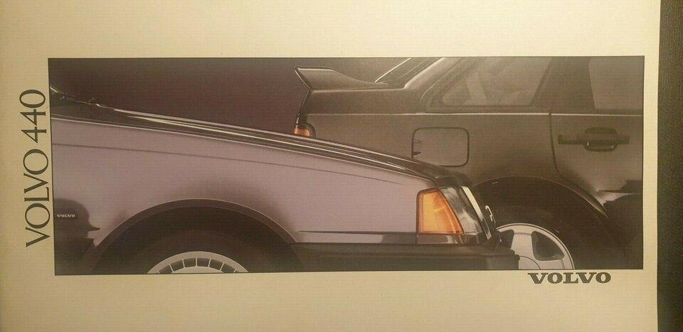 Brochure, Volvo 440