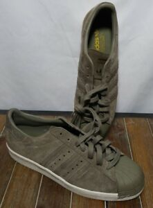 separation shoes 5de06 68ab6 Details about adidas Superstar 80s Decon Shoes Men's size 9.5 green
