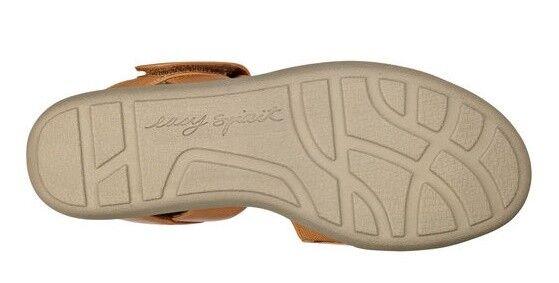 Easy Spirit Keleen wedge Sandale flats Leder natural tan sz 8.5 Med NEU
