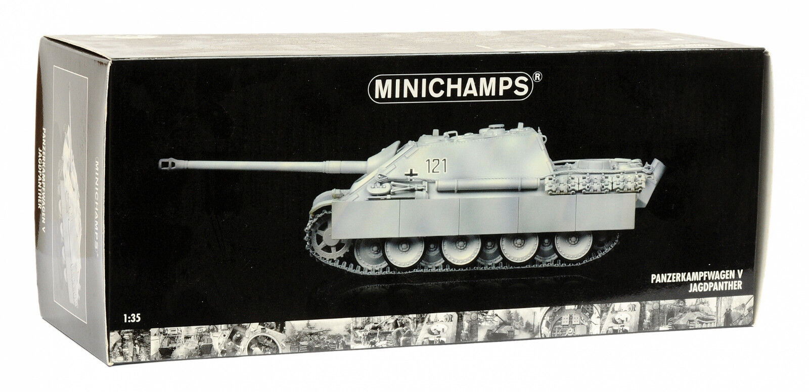 Minichamps 1 35 Panzerkampfwagen V Jagdpanther winter version
