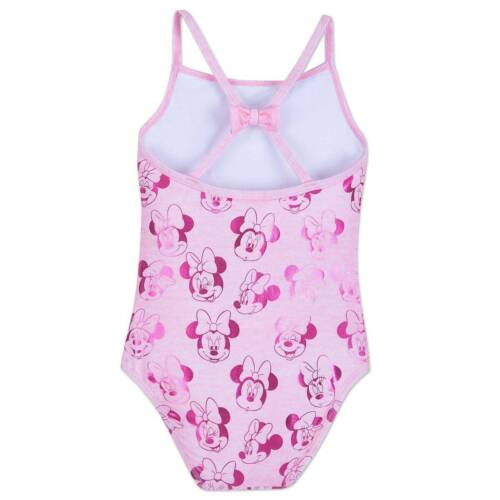 NWT Disney Store Minnie Mouse Swimsuit UPF 50 Girls  1 pc