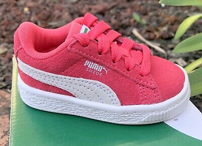 Puma Suede Classic Paradise Pink Infant Toddler Baby Girl Shoes Sizes 4 - 7  | eBay