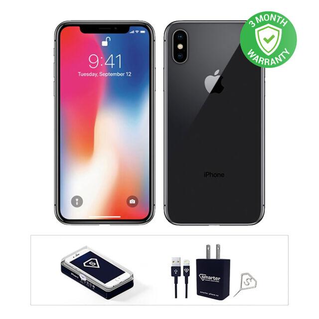 Apple  iPhone X | 64GB | Space Gray | LTE CDMA/GSM | Unlocked | Excellent
