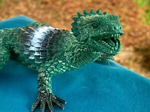 """Beautifully Detailed Realistic 8/"""" Brown Lizard PVC Toy Figure"""