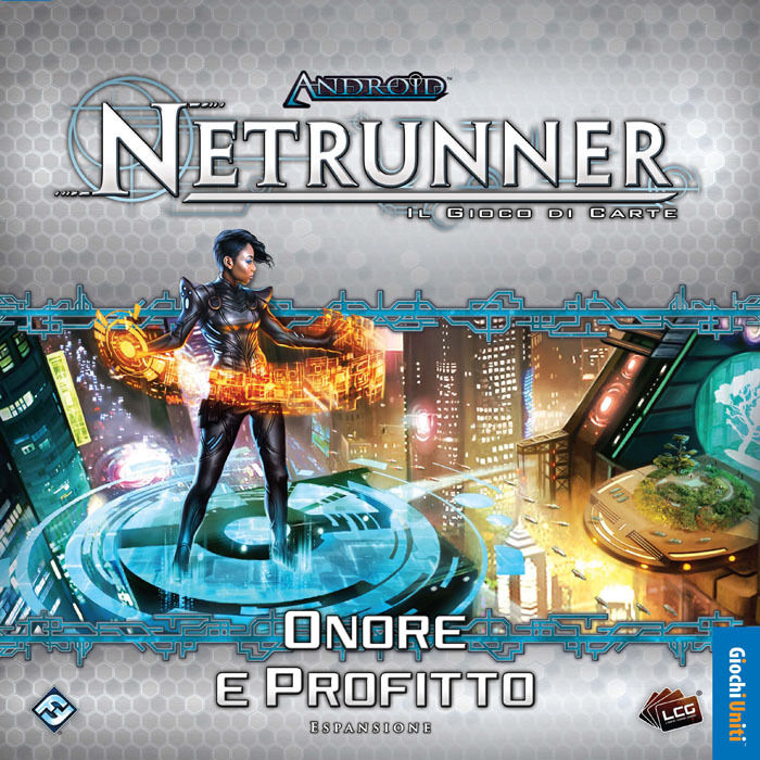 Richard Garfield's Android  Netrunner LCG - Honor and Profit - Expansion, Ita