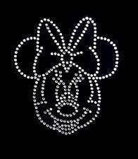 Minnie Mouse Grande Cristal Sparkle Hierro en transferencia para ropa y muebles