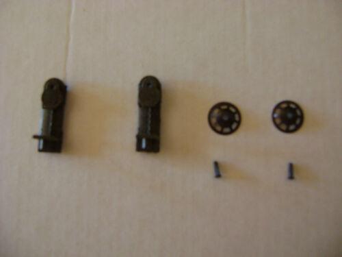 2 Lionel 3451-4 Brakestand w//drive stud /& brakewheel
