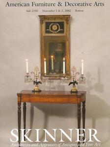 Skinner American Furniture Folk Art Auction Catalog 02 Ebay
