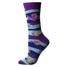Laurel Burch Hearts Crew Socks LBWS18H007-01