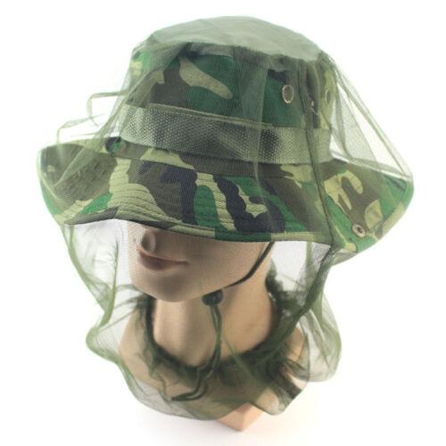 Moskitonetz Netz Kopfschutz Moskito Schutzen Wandern Camping Kopf Outdoor NEW