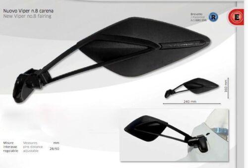 GSX Motorcycle Sportbike Fairing Mirrors-Pair 7461//62  ITALY Suzuki GSXR
