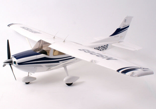 Art Tech Cessna 182 500 RTF Ready To Fly Trainer RC Plane Model 1.3m New - bluee