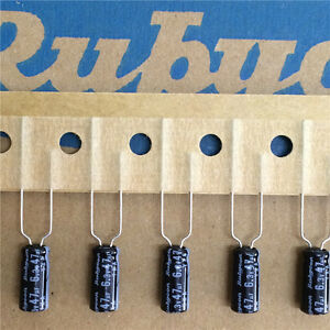 50pcs 330uF 10V Rubycon YXA 6.3x11mm 10V330uF Aluminum Electrolytic Capacitor