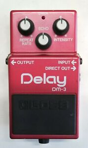 BOSS-DM-3-Delay-Guitar-Effects-Pedal-made-in-Japan-11-Free-Shipping