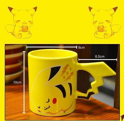 Pokemon Pikachu Mug Cup Game Pocket Monsters Comic Yellow New
