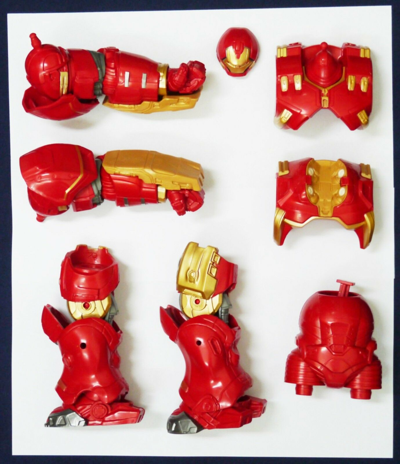 Hulkbuster Marvel Legends BAF Avengers Iron Man Hasbro loose build a figure