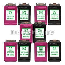 10 PACK HP 60XL ink cartridge for PhotoSmart C4600 C4635 C4685 C4780 C4700 C4740