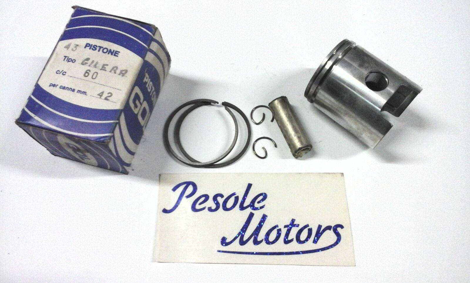Pistone piston kolben gilera cc50   60 diametro 42 anni 70