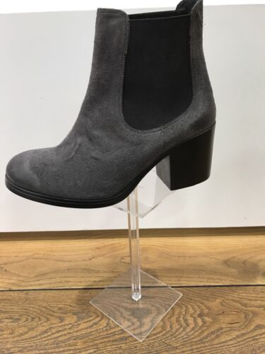 Chaussure Femme Semerdjian En Gris Bottine Daim Pointure Talon 37 7 rrHqwFd