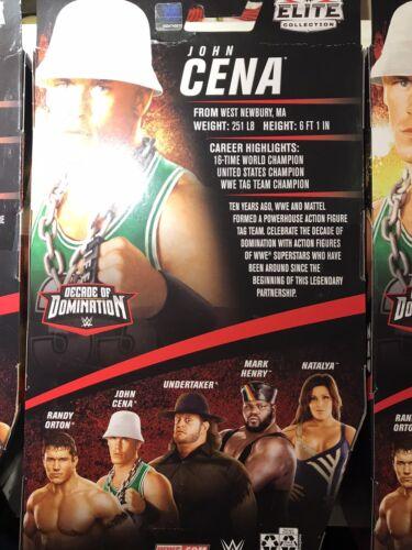 WWE Elite John Cena Decade of Domination In Hand NIB AEW Mattel