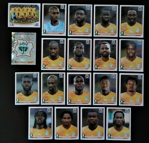 Panini-coupe-du-monde-2010-Cote-d-039-Ivoire-Ivory-Coast-equipe-equipe-Complete-World-cup-WC