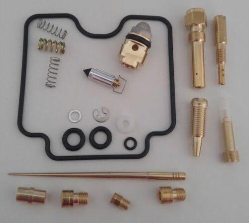 Carburetor Rebuild Kit Repair For Yamaha Grizzly 660 YFM660FW 4x4 2002-2005 L@@K