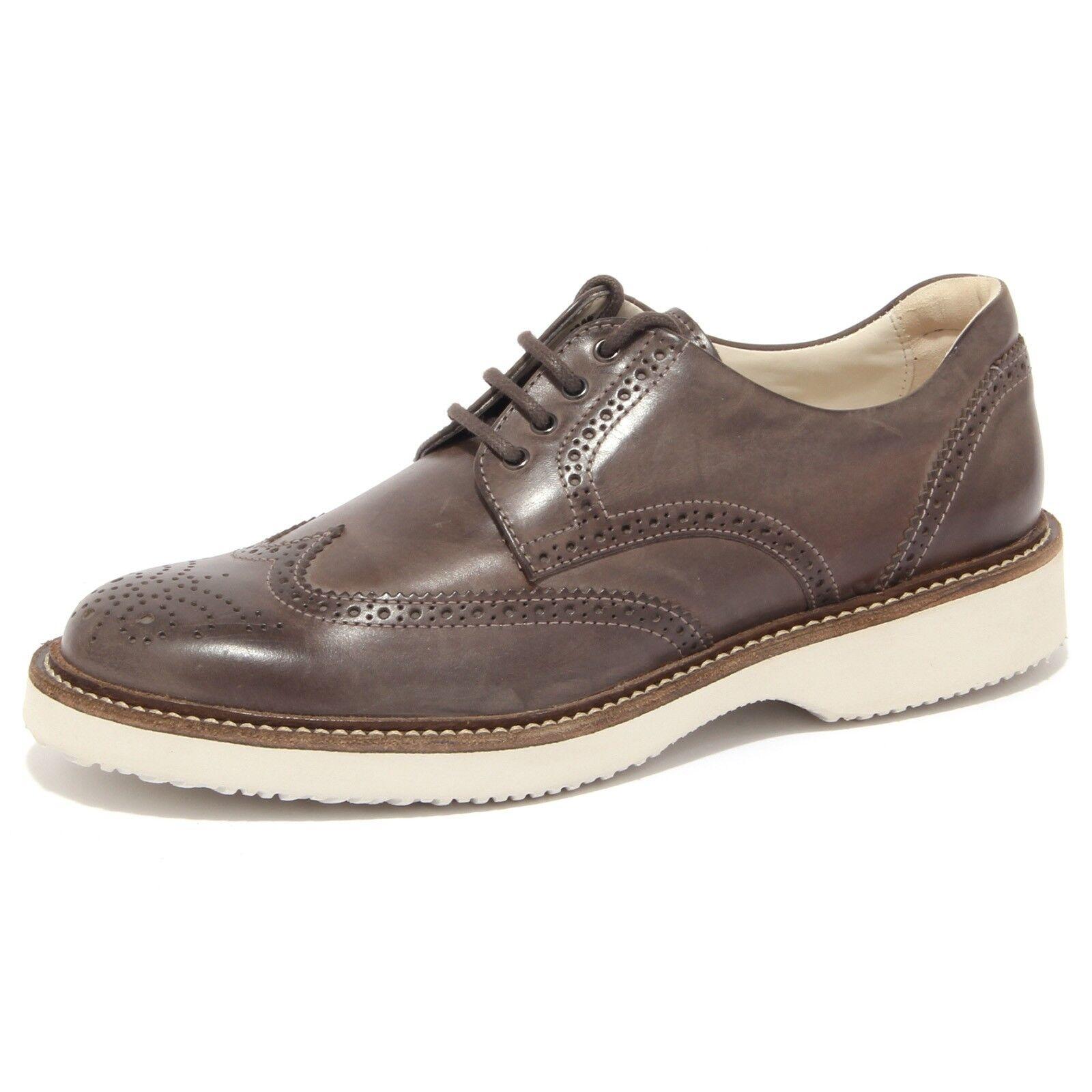 90242 scarpa HOGAN BUCATURE H 217 ROUTE DERBY BUCATURE HOGAN uomo shoes men 96328f