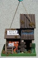 Bird House Bait And Tackle Shed Wood & Luan Plywood