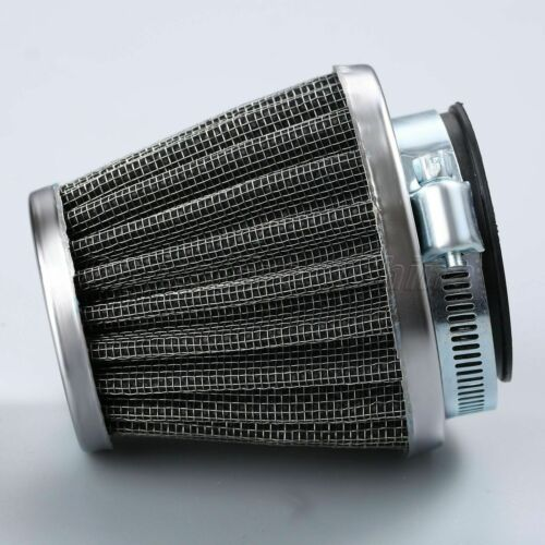 42mm Motorcycle Engine Inlet Air Intake Filter Double Layer Mesh Cleaner Filter