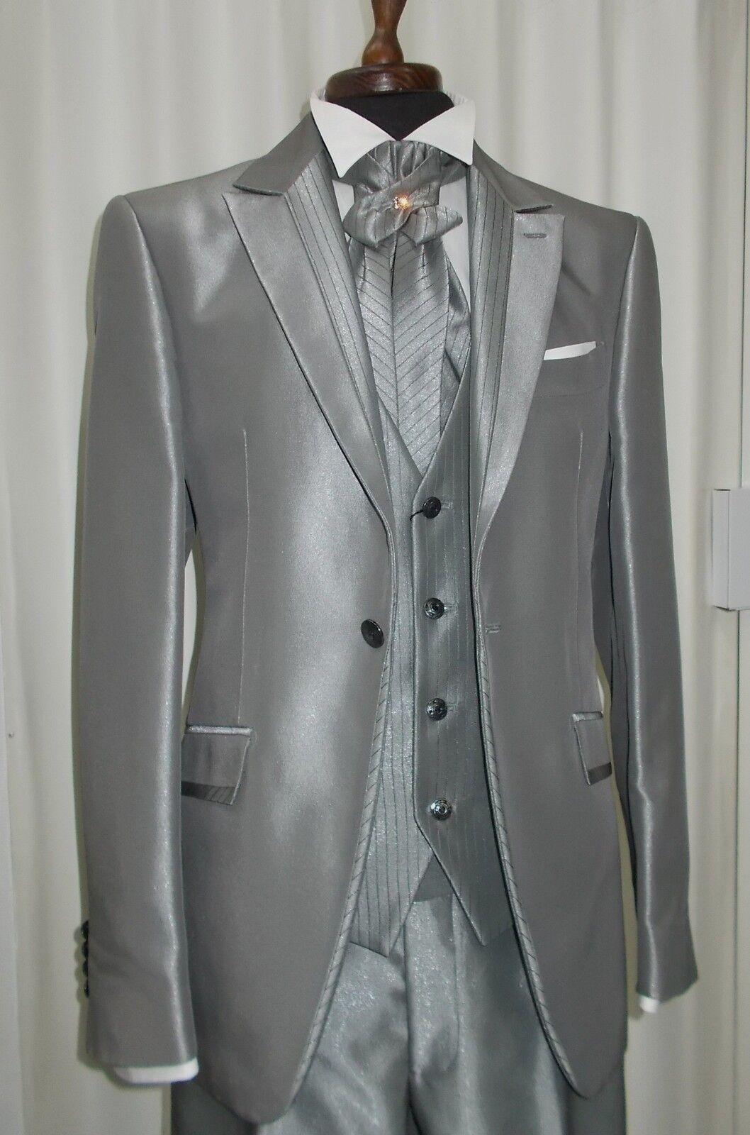 Kleid Bräutigam Tight T.48 Unterzeichnet Carlo Pignatelli Suit Groom Hochzeit