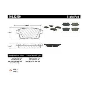 Centric 104.15310 Brake Pad