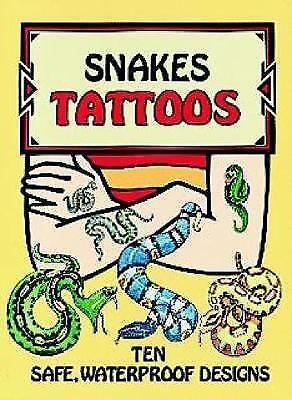 Snakes Tattoos by Jan Sovak (Paperback, 1995)
