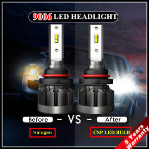 2x-CREE-CSP-9006-HB4-LED-Headlight-Kit-1200W-55000LM-High-Beam-6000K-Light-Bulbs