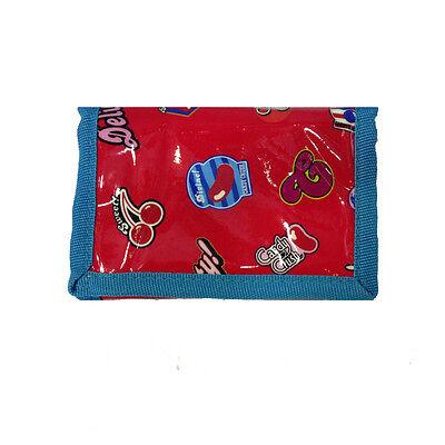 Candy Crush Portafoglio Lucido Con Strappo E Zip Posteriore 12x8 Cm Da Bambina Prezzo Moderato