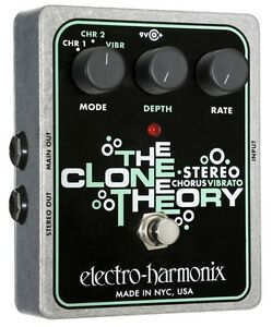 Electro-Harmonix-The-Clone-Theory-Stereo-Chorus-free-shipping