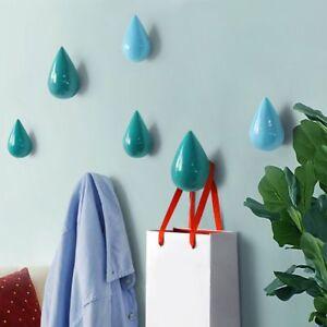 Hanger-Storage-Racks-Holder-Wall-Hanger-Organizer-Water-Drop-Shape-Coat-Hook