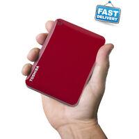 Toshiba 1 Terabyte Portable External Hard Drive Usb 3.0. Video Music Storage 1tb