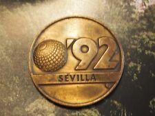 Commemorative Medal Universal Exposition La Cartuja Sevilla Spain 1992