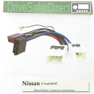 DIN ISO Cavo connettore cablaggio autoradio adattatore per auto da Sud Corea 1998-2005