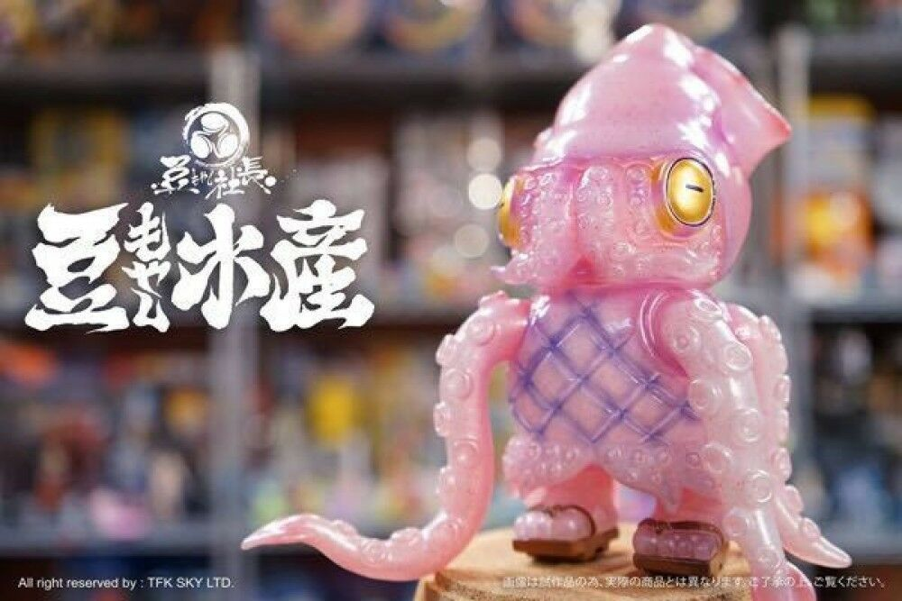 Instinctoy bean sprouts Marine products squid store manager Soft Vinyl
