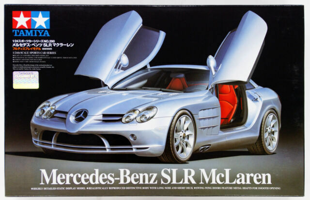 TAMIYA 1 24 KIT AUTO IN PLASTICA MERCEDES-BENZ SLR MCLAREN ART 24290