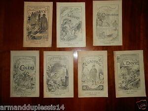 OPUSCOLI-CATECHISMO-I-PECCATI-CAPITALI-LES-PECHES-CAPITAUX-ANTICHI-ANEDOTTI