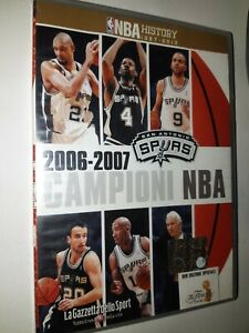 DVD-N-11-NBA-History-1997-2013-Spurs-Champions-2006-2007-Italian-English