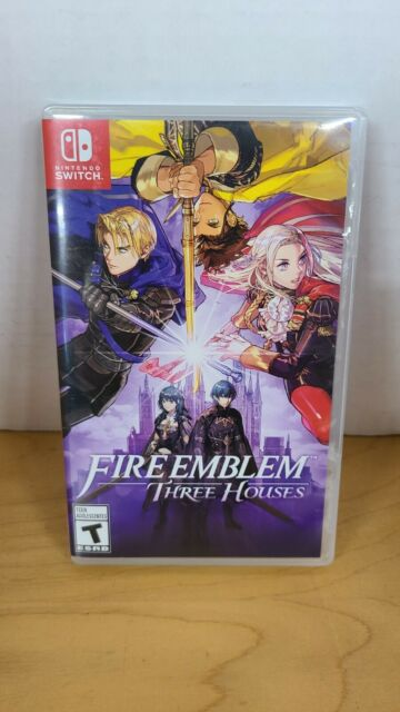Fire Emblem: Three Houses - Nintendo Switch Very Good!! FREE SHIPPING