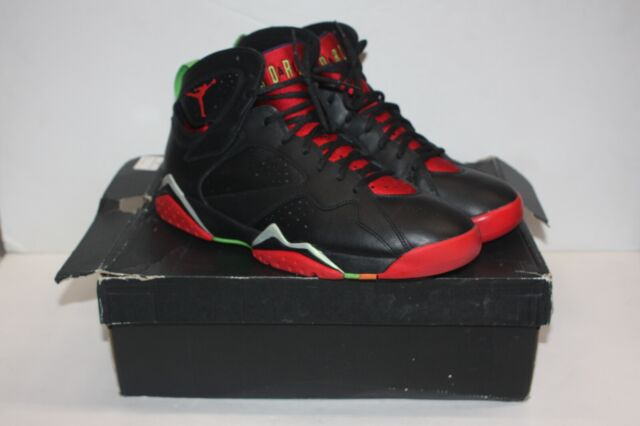 07ed31dd478 Nike Air Jordan Retro VII 7 Marvin The Martian Black Size 13 304775 ...